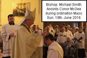 Conor McGee Ordination